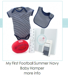 My First Football Baby Boy Hamper