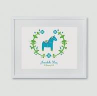 {focus_keyword} Christening gifts dala horse