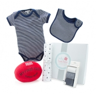 My First Football Summer Navy Baby Hamper