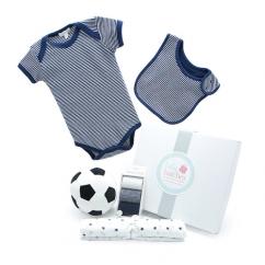 My First Soccer Ball Summer Navy Baby Hamper