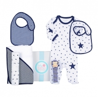 Navy Star Winter Baby Hamper