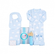 Blue Cloud Deluxe Baby Hamper