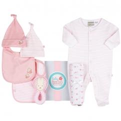 pretty pink winter box for girls