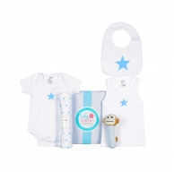 Blue Star Summer Baby Box